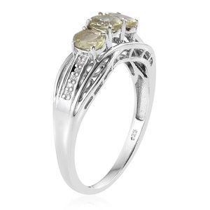 Jewelry - NEW Size 5 Yellow Apatite , Cambodian Zircon Ring
